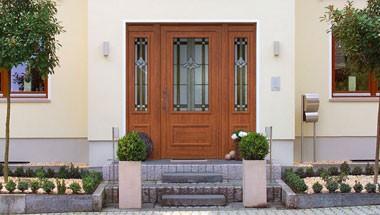 Holzdekor Haustüren