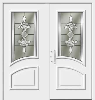 ERKA Aluminium Haustüren von Kompotherm – Chagall Modell 135 RL
