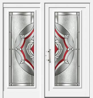 ERKA Aluminium Haustüren von Kompotherm – Chagall Modell 29