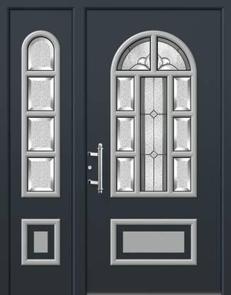 ERKA Aluminium Haustüren von Kompotherm – Dürer 74