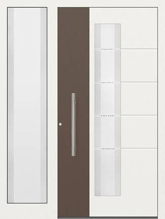 ERKA Aluminium Haustüren v n Kompotherm – E-Design Modelle – 274L