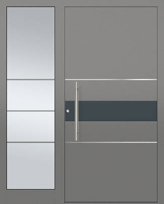 ERKA Aluminium Haustüren von Kompotherm – E-Design Modelle – 282