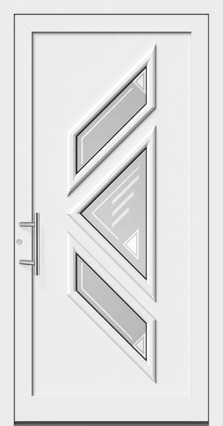 ERKA Aluminium Haustüren von Kompotherm – Matisse Modell 54L