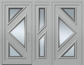 ERKA Aluminium Haustüren von Kompotherm – Matisse Modell 7L7R30L
