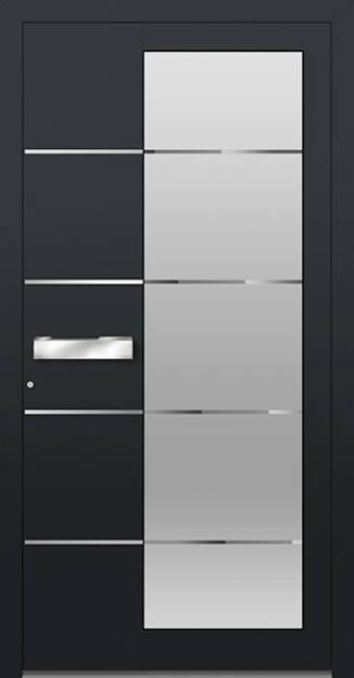 ERKA Aluminium Haustüren von Kompotherm – Modelltüre 3410