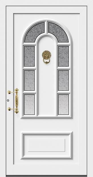 ERKA Aluminium Haustüren von Kompotherm – Holzdekor Dürer 3150