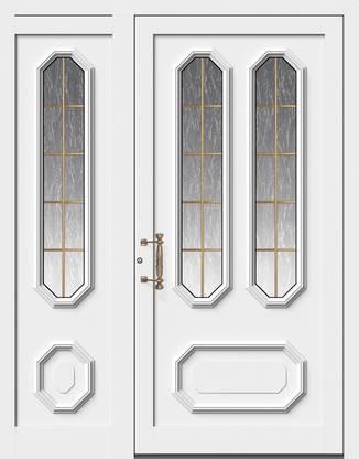ERKA Aluminium Haustüren von Kompotherm – Rubens Modell 14V