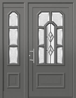 ERKA Aluminium Haustüren von Kompotherm – Rubens Modell 30