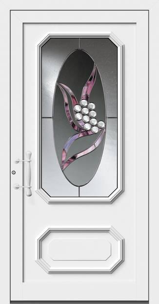 ERKA Aluminium Haustüren von Kompotherm – Rubens Modell 8V