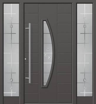 ERKA Aluminium Haustüren von Kompotherm – van Gogh Modell 104 L