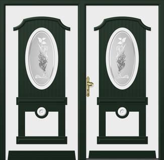 ERKA Aluminium Haustüren von Kompotherm – van Gogh Modell 63